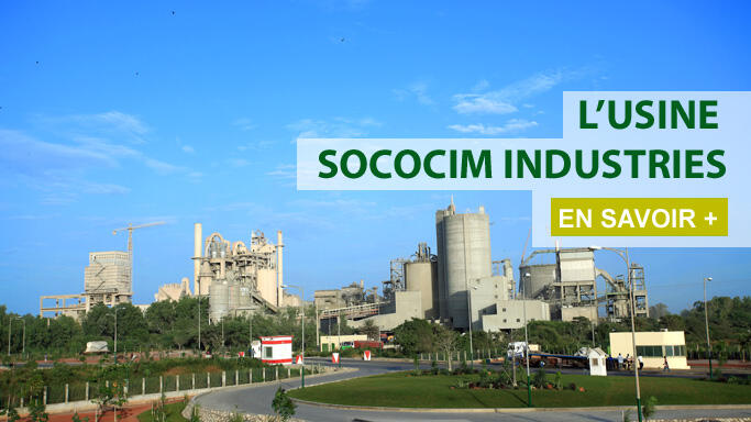 L'usine Sococim Industries